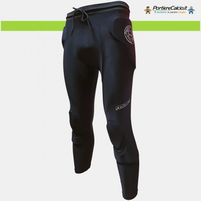 Sottopantalone alle ginocchia Reusch CS Femur 3/4 Short Padded nero
