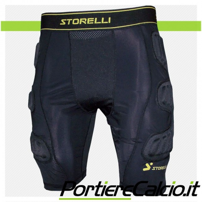 Pantaloncino compressione Storelli BodyShield Ultimate Protection GK Short