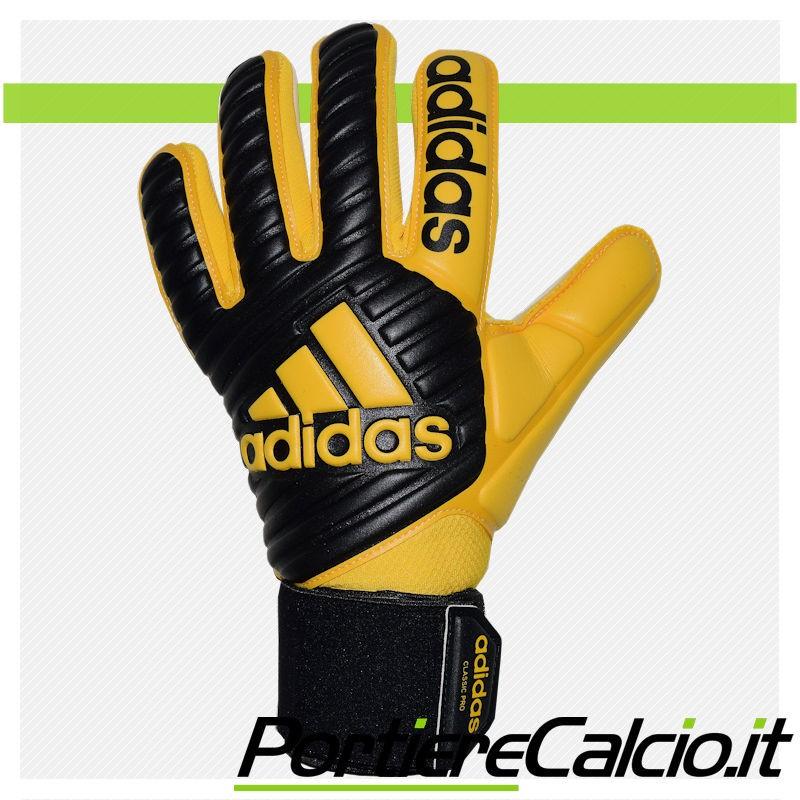 af4fe34f08 ... Guanti da portiere Adidas Ace Classic Pro gialli neri dorso ...