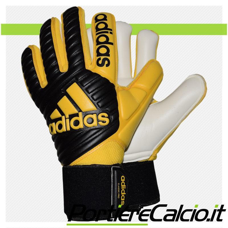 55765cc244 Guanti da portiere Adidas Ace Classic Pro gialli neri su ...