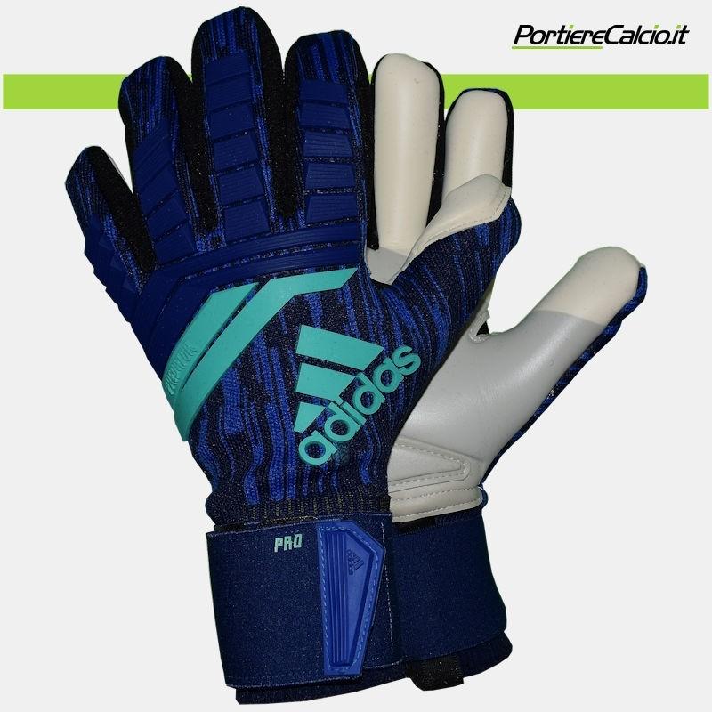 6544e180425954 Guanti da portiere Adidas Predator Pro blu su Portierecalcio.it