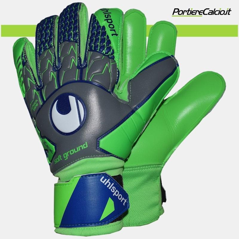 f4a5699478106d Abbigliamento tecnico Uhlsport UHLSPORT SOFT RESIST SF Guanti Portiere  Keeper Gloves con stecche Uom