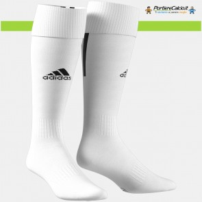 Calzettoni Adidas Santos 18 Sock bianchi