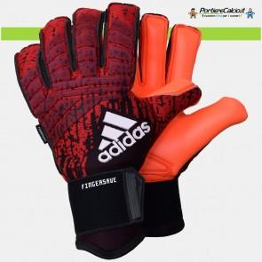 Guanti da portiere Adidas Predator Pro Fingersave Active Red
