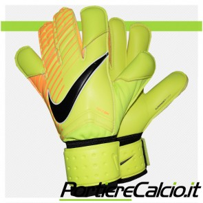 Guanti da portiere Nike GK Grip 3 giallo fluo