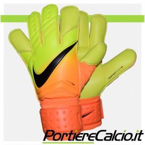 Guanti portiere Nike Vapor Grip arancio gialli bambino