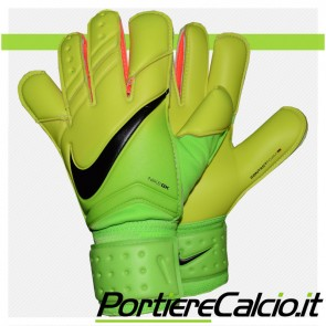 Guanti da portiere Nike Gk Vapor Grip 3 gialli verdi