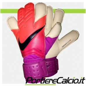 Guanti da portiere Nike Gk Vapor Grip 3 rosso viola