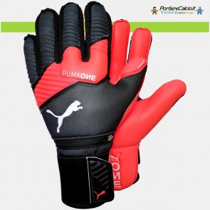 Guanti portiere Puma One Protect 1 Black Nrgy Red