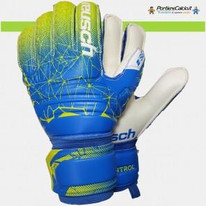 Guanti da portiere Reusch Fit Control SG Extra Finger Support blu