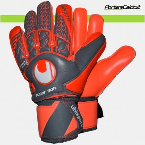 Guanti da portiere Uhlsport Aerored Supersoft junior