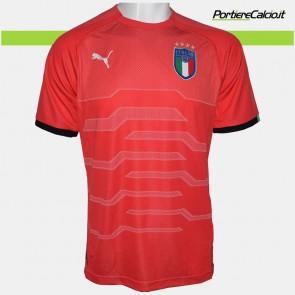 Maglia portiere Puma Italia rossa 2018