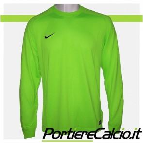 Maglia portiere Nike Park Goalie II verde elettrico