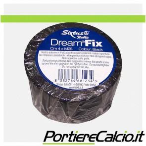 Nastro ferma calzettoni Sixtus Dream Fix nero