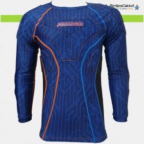Sottomaglia portiere Reusch CS 3/4 Undershirt Padded Pro blu