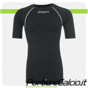 Maglia termica Uhlsport Thermo Shirt manica corta nera