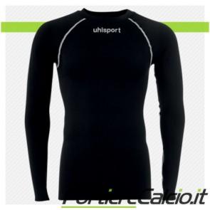 Maglia termica Uhlsport Thermo Shirt manica lunga nera