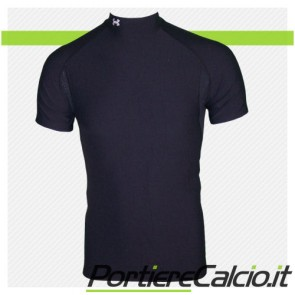 Maglia Under Armour Cold Gear Mock manica corta nera