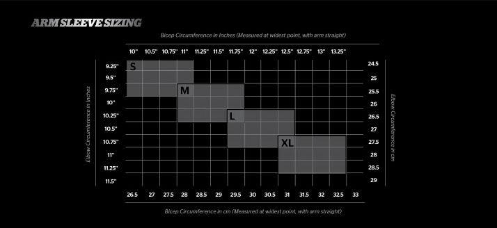 tabella misure gomitiere storelli