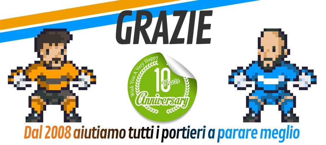 anniversario 10 anni portierecalcio.it