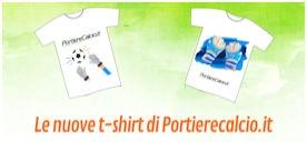 Le t-shirt di Portierecalcio.it