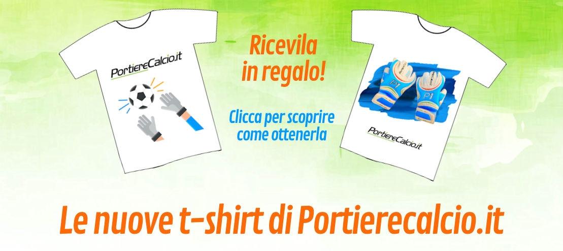 Le nuove t-shirt di Portierecalcio.it